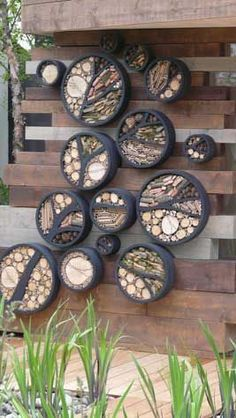 Even more beautiful insect hotels!! Make a home for insects in your vegetable garden