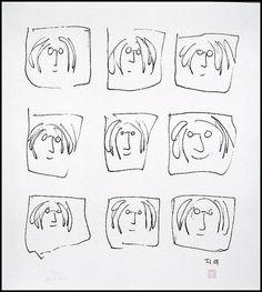 'John Lennon Portraits' by John Lennon