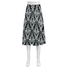 vintage pattern 916A Mnemosyne Women's Crepe Skirt(Model D16)
