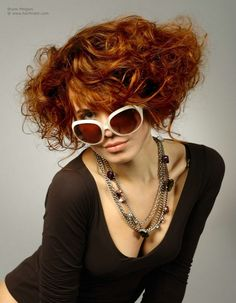 Best Haircuts For Curly Hair Colored