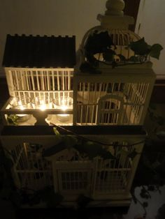 Vie de Vic: To decorate: Bird Cages