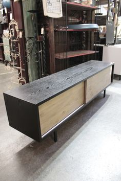 Contemporary Black Entertainment Unit from Impulse Imports