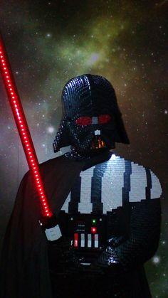 Darth Vader in Lego