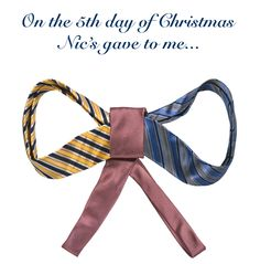 More stocking-stuffing goodness with an exquisite assortment of neck and bow-ties.