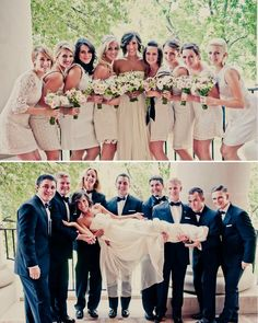 love the brides dress but in white