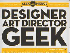 Website http://thegeekdesigner.com/