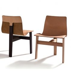 Shop SUITE NY for the Tre 3 Chair designed by Angela Mangiarotti for AgapeCasa and more modern Italian designer furniture, iconic seating, solid wood and leathe