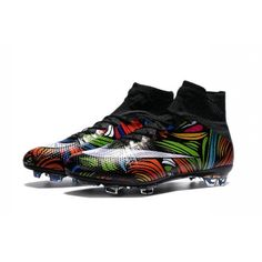 9080a9bbc2a 2016 Nike Mercurial Superfly Mens Firm-Ground Soccer Cleats Black White Green  Blue Orange Pink Yellow