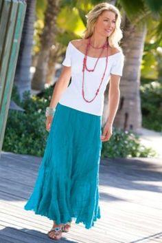 Summer Swirl Skirt from Soft Surroundings