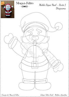 1 million+ Stunning Free Images to Use Anywhere Clay Christmas Decorations, Felt Decorations, Felt Christmas Ornaments, Christmas Crafts, Christmas Christmas, 2d Shapes Activities, Christmas Ornament Template, How To Draw Santa, Quilting