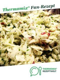 Krautsalat - einfach, schnell und superlecker von madebymaren. Ein Thermomix ® Rezept aus der Kategorie Vorspeisen/Salate auf www.rezeptwelt.de, der Thermomix ® Community.