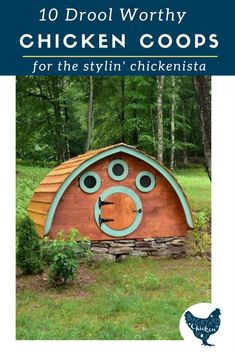 Need some chicken coop inspiration? We've gathered ten of the most incredible chicken coops on the market all in one place! Chicken Coop Blueprints, Chicken Coop Plans, Building A Chicken Coop, Diy Chicken Coop, Raising Backyard Chickens, Keeping Chickens, Meat Chickens, Bantam Chickens, Fancy Chickens
