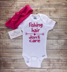 A personal favorite from my Etsy shop https://www.etsy.com/listing/262237568/baby-outfit-bodysuit-cute-fishing-shirt