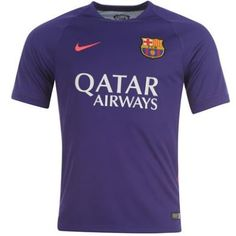 Barcelona Squad Short Sleeve Training Top - Violet FC Barcelona Official Merchandise Available at www.itsmatchday.com