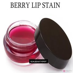 Berry Lip Stain | Need a new lip stain, make this! | Life hacks every girl should know from youresopretty.com #LifeHacks #youresopretty #beautyhackseverygirlshouldknow