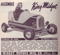 ak model Mighty midget garden tractor