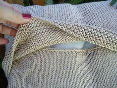 Koisas da Kaká: Decoração - Almofada em tricô