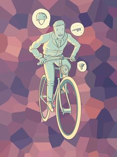 Enjoy the bike. A Ferunandesu graphic work, ONLY for the Expobike Bogotá