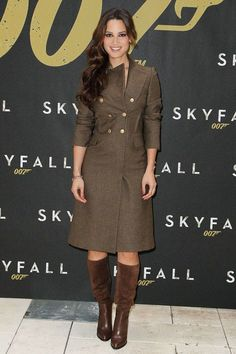 nice Berenice Marlohe at a Skyfall photo call in New York Celebrity Style Check more at http://pinfashion.top/pin/77264/