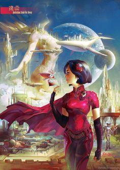 03170bcdd3466 Invitation from Far Away by SharksDen on deviantART Futuristic Cars,  Futuristic Vehicles, Science Fiction