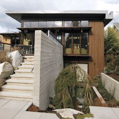 Modern bungalow by design architect Alan Endall & Celine Pitre   Photo by Heather Ross www.heatherrossinhouse.com