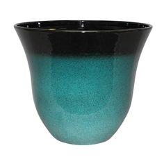 Northcote Pottery 46 x 38cm Teal Primolite Lily Pot