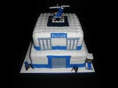 lego police cake - Google Search