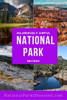 Ever wonder how non-outdoors people see the national parks?  TripAdvisor and Yelp gives them a perfect forum to share their experiences in the parks.    #nationalparks #nationalparkobsessed #nationalparks #findyourpark #nationalparkgeek via @nationalparkobsessed