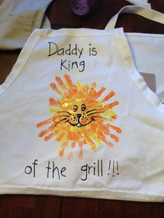 King-of-the-Grill | DIY Fathers Day Crafts for Kids | Homemade Birthday Gifts for Dad from Son