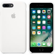 Apple iPhone 7 Plus siliconenhoesje wit  SHOP ONLINE: http://www.purelifestyle.be/shop/view/technology/iphone-beschermhoezen/apple-iphone-7-plus-siliconenhoesje-wit