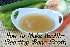 Making my own bone broth, or stock, from scratch has truly changed the flavor of all my recipes and has added nearly innumerable health benefits for my family. Here's how to make healthy bone broth, and it's much easier than it sounds.