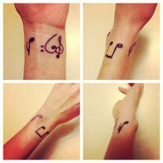 Music tattoo #music #tattoo