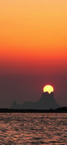 Sunset in Ses Illetes, Formentera, Spain