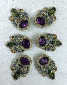 Making Monday marvelous with Dori's Maharajah earrings... :) #DoriCsengeri #earrings #clips #crystal #designerjewelry