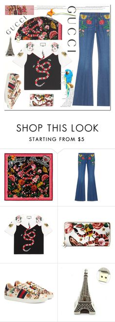 """""""Presenting the Gucci Garden Exclusive Collection: Contest Entry"""" by ilona-828 ❤ liked on Polyvore featuring Gucci and gucci"""