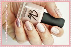 me, myself and my nails: W kolorze pudrowego różu - EvoNails 09 dirty pink