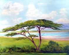 "The Lone Acacia Tree from  the ""Out of Africa Series"""