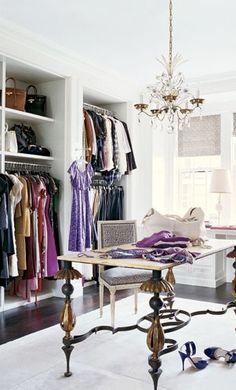lavender closet