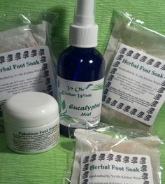 Foot Therapy Gift Box For Mother's Day by KitchenWitch1 on Etsy