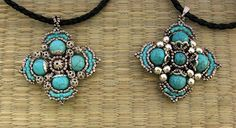 A great Hungarian site with lots of tutorials - Orsi Beads: Sample