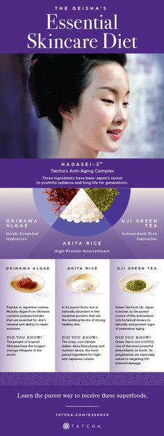 Tatcha Beauty inspired by ancient Geisha beauty rituals – www.rx-beautybran… Tatcha Beauty Inspired by Ancient Geisha Beauty Rituals – www. Japanese Beauty Secrets, French Beauty Secrets, Geisha, Cleopatra Beauty Secrets, Ancient Beauty, Italian Beauty, W Magazine, Organic Beauty, Beauty Routines