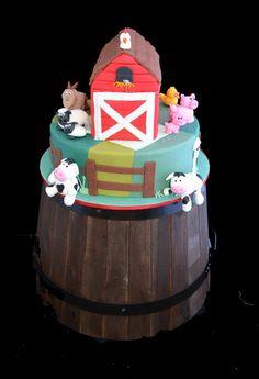 "Photo 1 of 18: Farm Theme / Birthday ""Savanna's 2nd Birthday"" | Catch My Party"