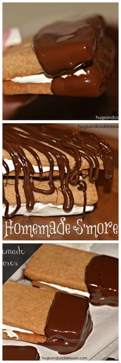 Homemade S'mores