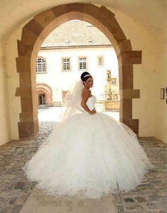 Nuevo white/ivory Vestido De Novia Encaje Vestido De Boda Personalizado Tamaño 4 6 8 10 12 14 16 18 +