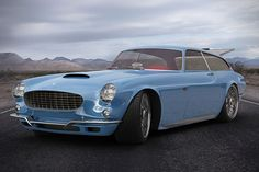 """Volvo P1800 ZES Concept 