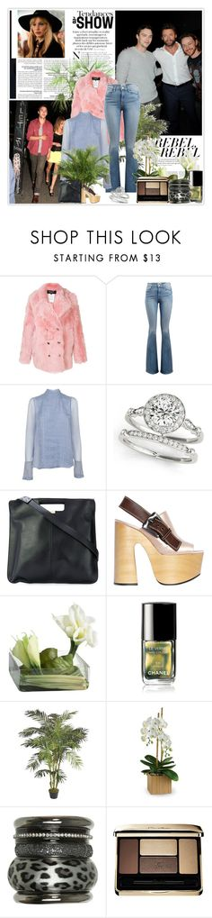 """""""46. Boyfriends point: asking your girlfriend's father for her hand in marriage."""" by fashionqueen76 ❤ liked on Polyvore featuring Rochas, Frame, Allurez, Emma Watson, Calla, Chanel, PLANT, Wet Seal and Guerlain"""