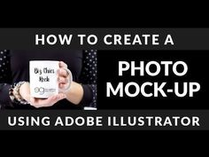 Adobe Illustrator Tutorial: How To Create A Photo Mockup - Erin Gipford - Graphic Designer - Ellsworth, WI Graphic Design Tools, Freelance Graphic Design, Tool Design, Graphic Design Inspiration, Web Design, Design Elements, Learn Illustrator, Adobe Illustrator Tutorials, Website Software
