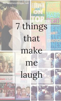 7 things that make me laugh - TheHappinessBlogger.com