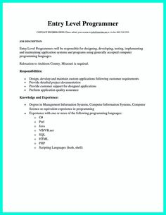 Chronological Resume Is One Of The Most Popular Formats People Use