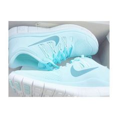 ✦⊱baby blue nikes♡♡⊰✦